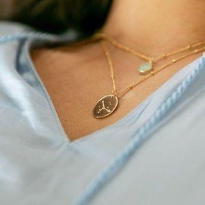 Cancer Zodiac Boho/Indie Pendant Charm Necklace